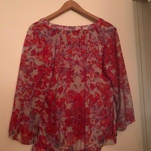 Limited floral blouse